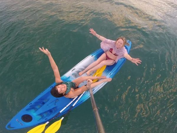 Kayaking in Agonda South Goa