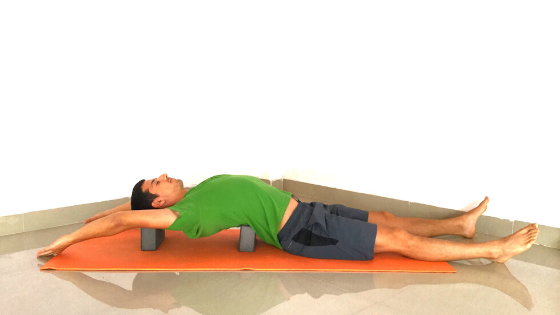 Stretches for post SUP muscle tension