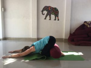 Yoga after knee replacement surgery - Supported Childs pose