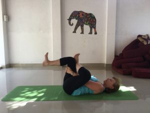 Yoga after knee replacement surgery - Figure of 4 pose