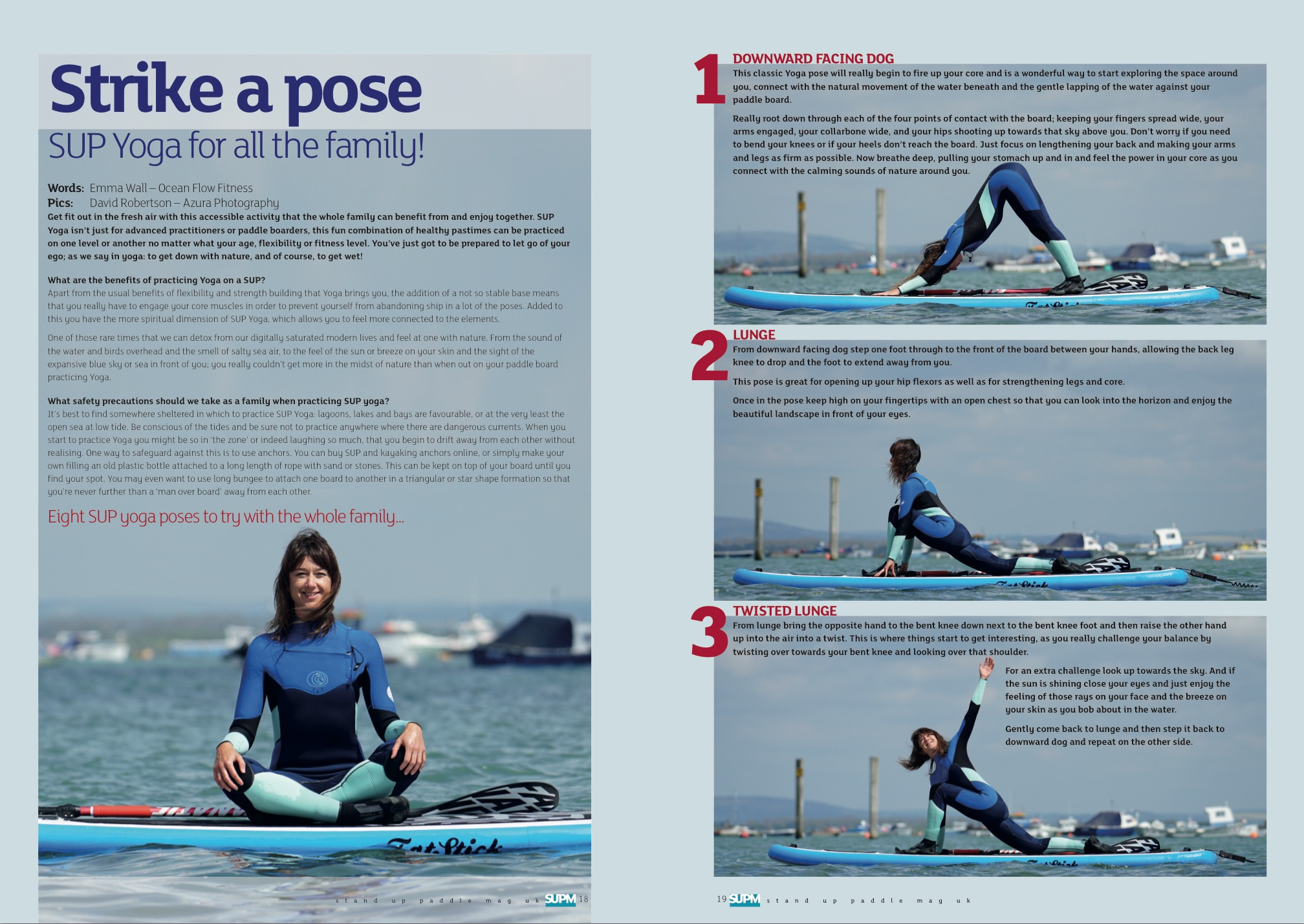 SUP Yoga for all the family