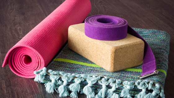 5 Yoga Props for your home practice