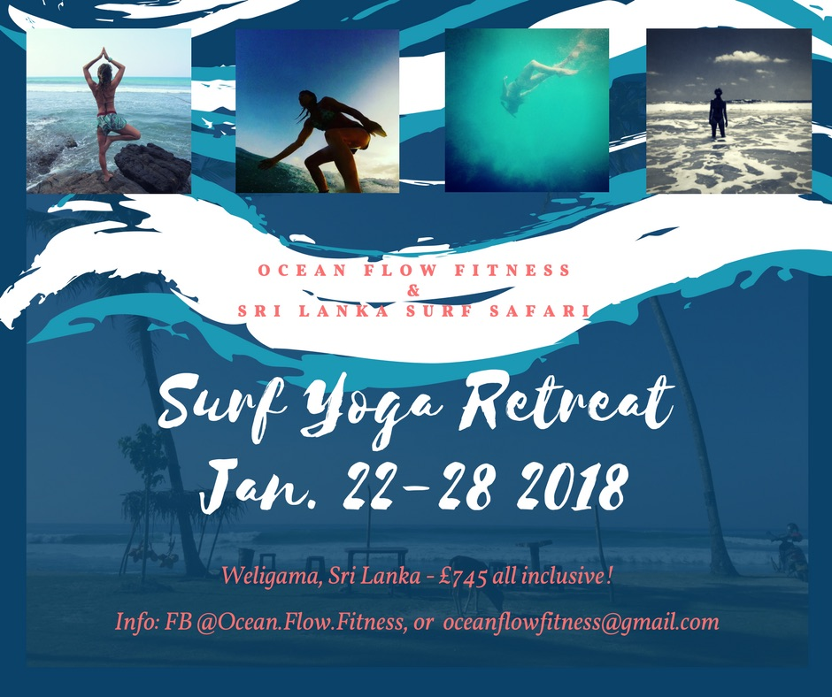 Surf yoga retreat Sri Lanka