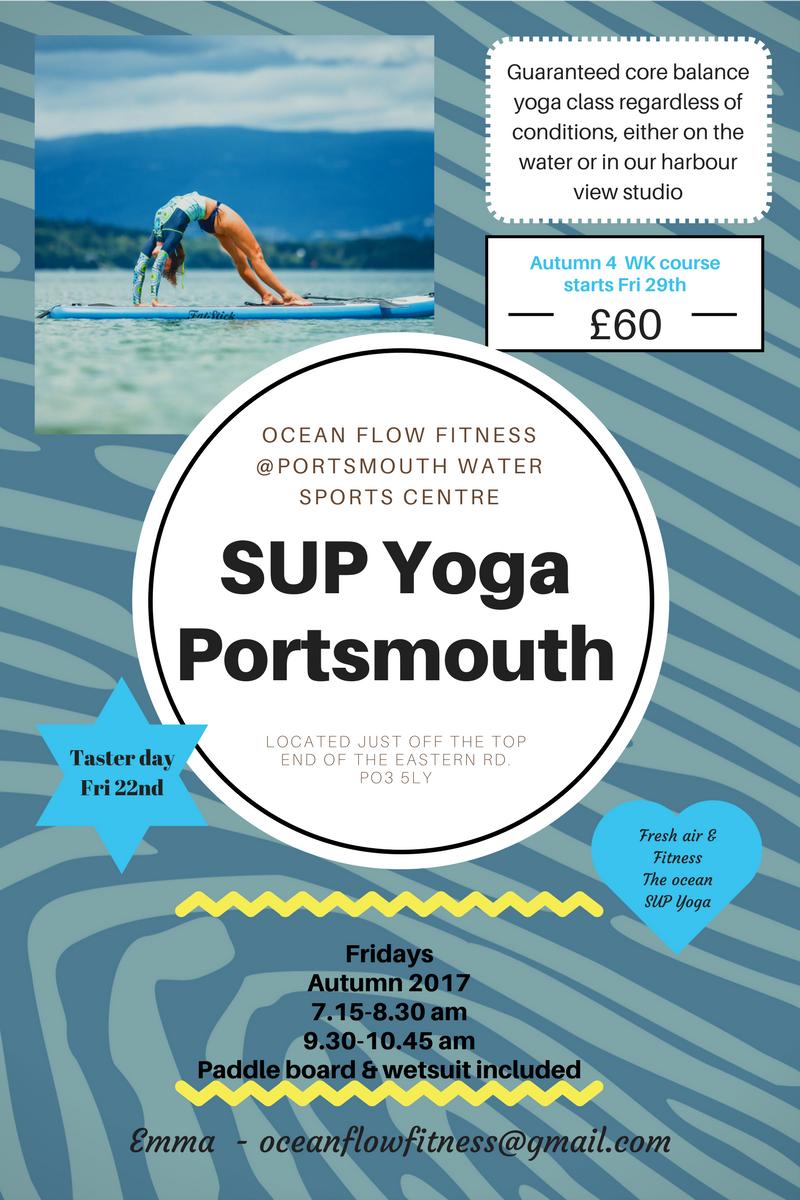 SUP yoga Portsmouth