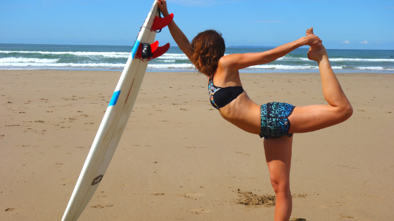 The 5 best yoga poses for a surf warm up