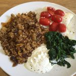 Food and fitness diary of a yoga instructor