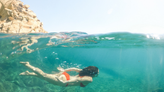 Swimming, yoga and the breath