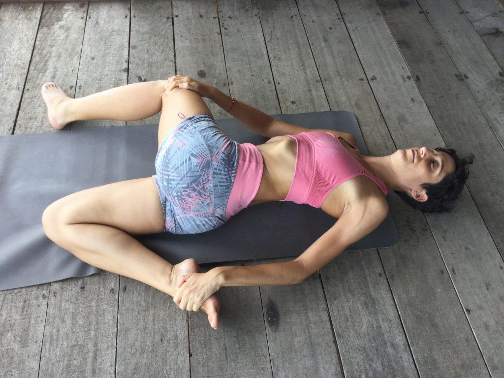 Yin yoga for post surf