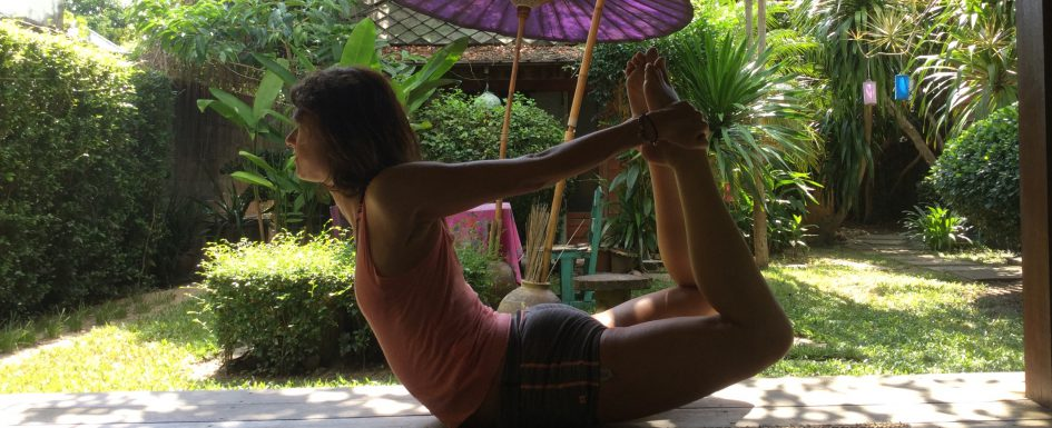 Yoga backbends and what's stopping you going deeper.