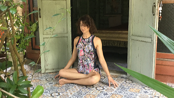 Yin Yoga – Shoelace pose