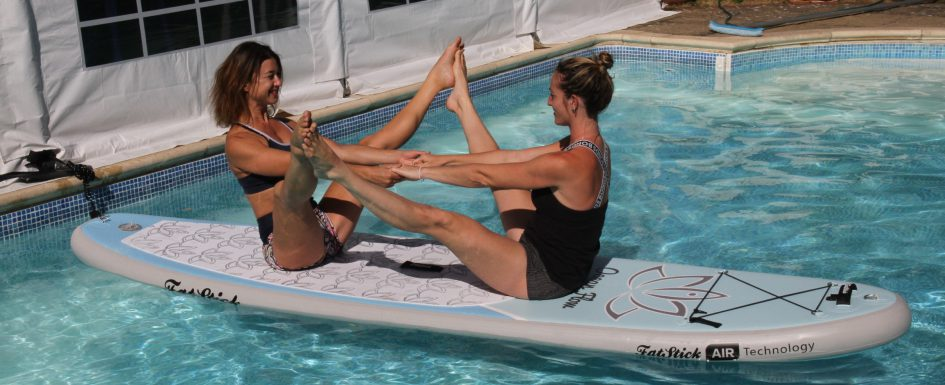 Partner SUP Yoga