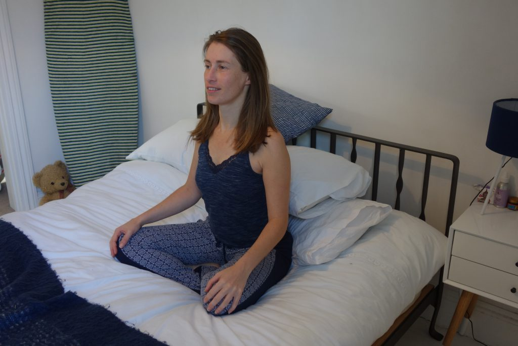 Bed yoga - 6 stretches for lazy mornings