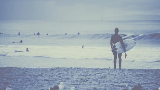 Eco-conscious Surfer