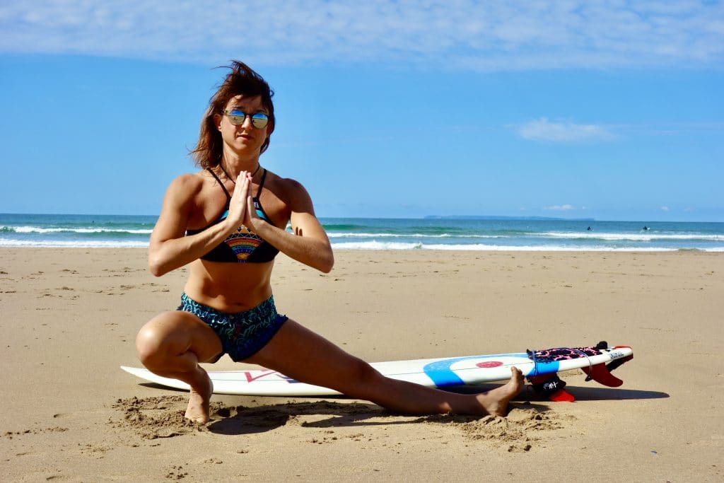 Hip mobility exercises for surfers