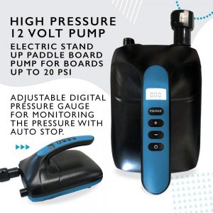 Inflatable SUP electric pump kit