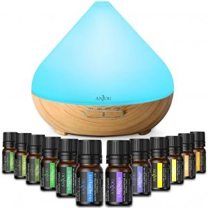 Large essential oil set with diffuser