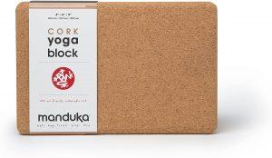 high quality cork yoga block