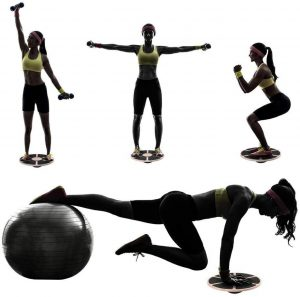 wobble board work out for home gym