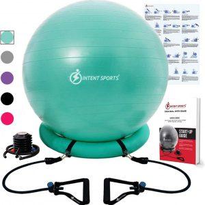 yoga and pilates exercise ball