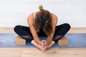 Yin yoga sequence with Butterfly Pose