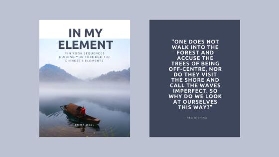 In My Element - Yin yoga book