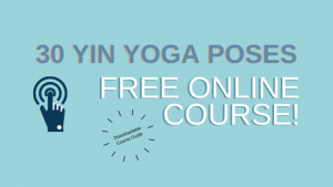 yin yoga poses free course