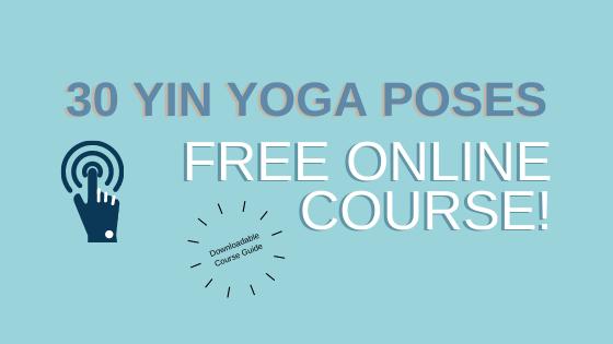 yin yoga poses free course
