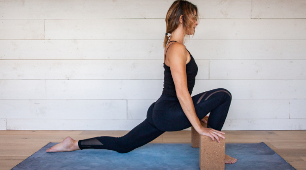 Dragon pose - Yin yoga poses for the Wood Element